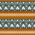 Tribal Navajo vector seamless pattern. aztec fancy abstract geometric art print. ethnic hipster backdrop for wallpaper, cloth