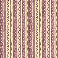 Tribal purple striped pattern beautiful abstract with triangles Stock Image