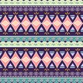 Tribal seamless chevron triangle pattern. African print decorative traditional vintage. Colorful abstract background. Hand drawn