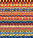 Tribal striped seamless pattern geometric multicolor background vintage soft colors swatches of included in the Royalty Free Stock Image