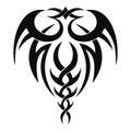 Tribal tattoo design Royalty Free Stock Photo