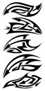 Tribal tattoo set Royalty Free Stock Image