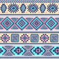 Tribal vintage ethnic pattern seamless illustration for your business Royalty Free Stock Photos
