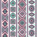 Tribal vintage ethnic pattern seamless illustration for your business Royalty Free Stock Photography