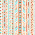 Tribal vintage ethnic seamless for your business Stock Photography
