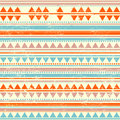 Tribal vintage ethnic seamless for your business Stock Images