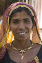 Tribal Woman Royalty Free Stock Image