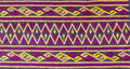 Tribe textile handmade style close up texture Royalty Free Stock Images