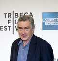 Tribeca film festival new york ny april actor robert de niro attends the mistaken for strangers premiere during the opening night Stock Photo