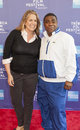 Tribeca film festival new york ny april director marina zenovich and tracy morgan attend talks the artist s angle richard pryor Royalty Free Stock Photography