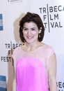 Tribeca film festival new york ny april director of programming for genna terranova attends mistaken for strangers opening night Royalty Free Stock Images