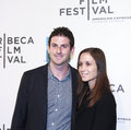 Tribeca film festival new york ny april jared cohen and rebecca zubaty attend mistaken for strangers opening night premiere during Royalty Free Stock Image