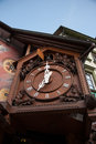 Triberg cuckoo clocks black forest tourists vacation in germany town Royalty Free Stock Images