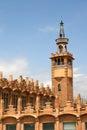 Tribuna di Caixa - Barcellona Immagine Stock Libera da Diritti