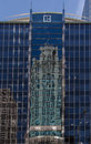 Tribune Tower and Modern Building Chicago Royalty Free Stock Photos