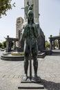 Tribute to the fallen in the Civil War Santa Cruz Tenerife Royalty Free Stock Photo
