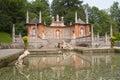 Trick Fountains At Hellbrunn C...