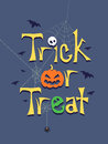 Trick or Treat Greeting Poster