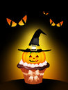 Trick or treat illustration of on halloween Royalty Free Stock Photo