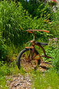 Tricycle antique Image stock