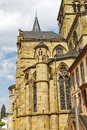 Trier cathedral or dom st peter is the oldest church in germany in ad constantine the first christian emperor built a church to Stock Images