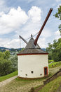 Trier medieval crane germany port along the banks of the moselle in this tower typical of was built in Royalty Free Stock Photography