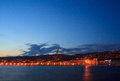 Trieste harbor Royalty Free Stock Photography