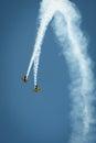 Trig aerobatic team Royalty Free Stock Photo