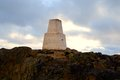 The trig point Royalty Free Stock Photo