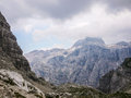 Triglav montain in national park slovenia Stock Photos