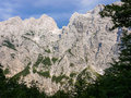 Triglav montain in national park slovenia Royalty Free Stock Image