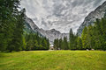 Triglav national park hdr photo Stock Image