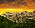Triglav national park julian alps slovenia Royalty Free Stock Images