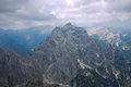 Triglav in slovenia view of north face of Stock Photo