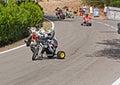 Trike slide Royalty Free Stock Photo