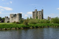 Trim castle county meath ireland on the banks of the boyne river it is the largest anglo norman in ireland Stock Photo