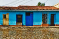 Trinidad, Cuba. View of Trinidad Royalty Free Stock Photography