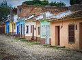 Trinidad Street and Houses, Cuba Royalty Free Stock Photo