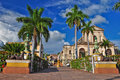 Trinidad town cuba year old city spanish colonial architecture unesco world heritage site trinidad famous its lovely cobblestone Stock Photos