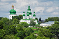 Trinity Cathedral in Chernigov Stock Images