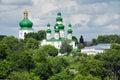 Trinity Cathedral in Chernigov Stock Images