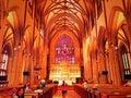 Trinity Church interior in new york Royalty Free Stock Photo