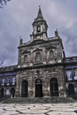 Trinity church in porto december on downtown carlos amarante unesco world heritage site historic area Stock Photo