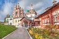 Trinity Church in Savvino-Storozhevsky Monastery Royalty Free Stock Photo