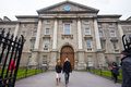 Trinity college dublin ireland april in ireland on april the was founded in as the mother of a new university and Stock Photos