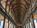 Trinity College Library Dublin Ireland Royalty Free Stock Photo