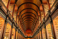Trinity College Library, Dublin, Ireland Royalty Free Stock Photo