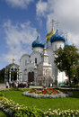 Trinity Lavra of St. Sergius. Assumption Cathedral Stock Photo