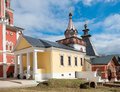 Trinity over-the-Gate Church in Savvino Storozhevsky monastery Royalty Free Stock Photo
