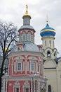 Trinity Sergius Lavra in Russia. Dormition cathedral
